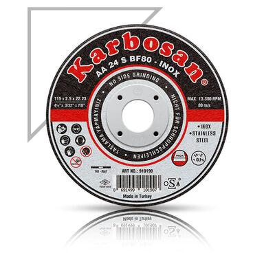 Karbosan 115x1.0x22.23 INOX Paslanmaz Çelik İnce Kesme Diski