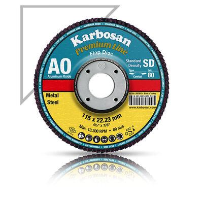 Karbosan 115x22x120 Kum Flap Disk NK