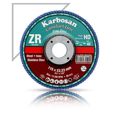 Karbosan 115x22x80 Kum Flap Disk ZR
