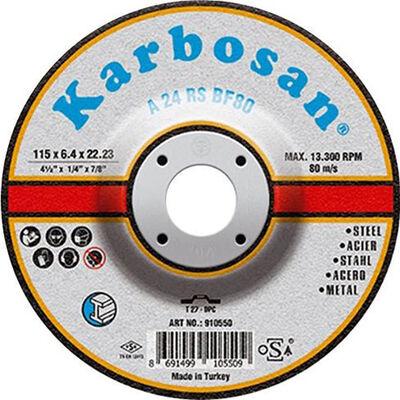 Karbosan 115x6.4x22.23 NK Metal Taşlama Diski