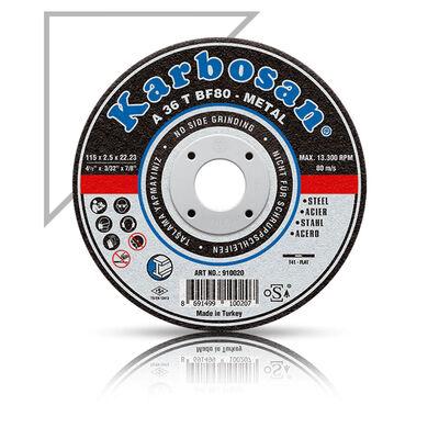 Karbosan 180x3.0x22.23 Metal Kesme Diski