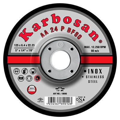 Karbosan 180x6.4x22.23 INOX Paslanmaz Çapakalma Diski