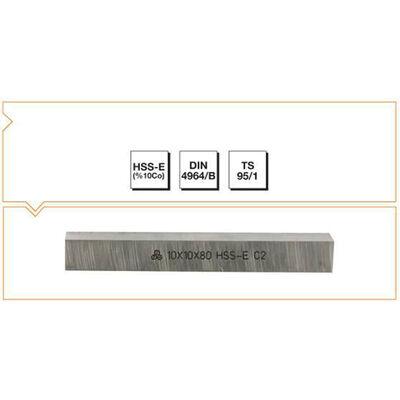 Makina Takım 8X8X63 HSS - E (%10Co) DIN 4964/B Kare Kesitli Torna Kalemi