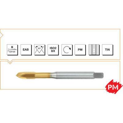 Makina Takım M16 PM DIN - 376 Venüs INOX Eğik Ağız Bilemeli Kılavuz