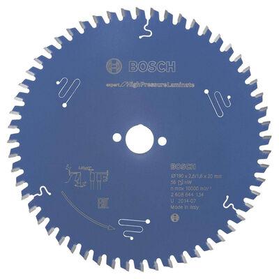 sınçlı Lamine Panel ve Trespa için Daire Testere Bıçağı 190*20 mm 56 Diş
