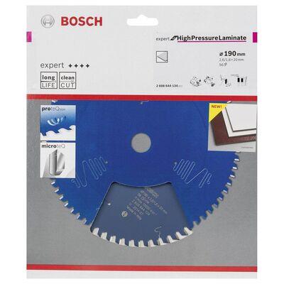 sınçlı Lamine Panel ve Trespa için Daire Testere Bıçağı 190*20 mm 56 Diş BOSCH