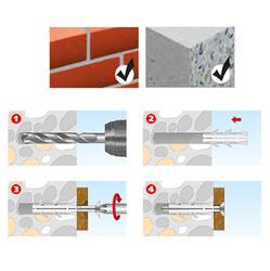 Tox 10X50 SD Barracuda Roket Dübeli 8 Adet (013 700 08 1) - Thumbnail