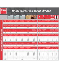 Tox M6X65S MHD-S Acrobat İçi Boş Metal Dübel (035 101 13 1) 25 Adet - Thumbnail